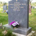 Monumental Headstone 012